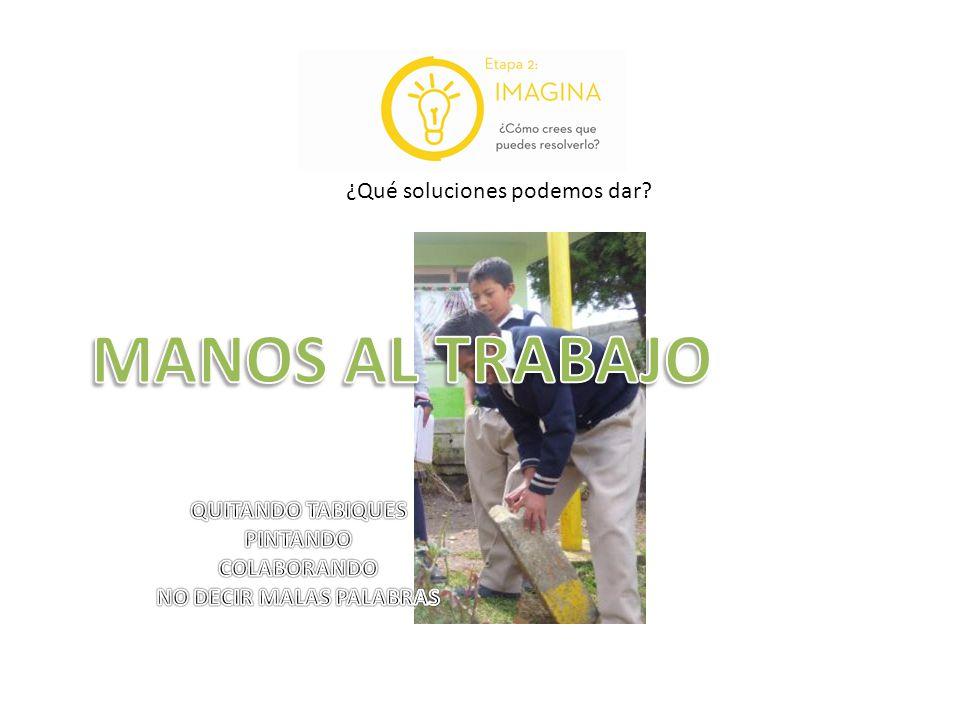 NO DECIR MALAS PALABRAS
