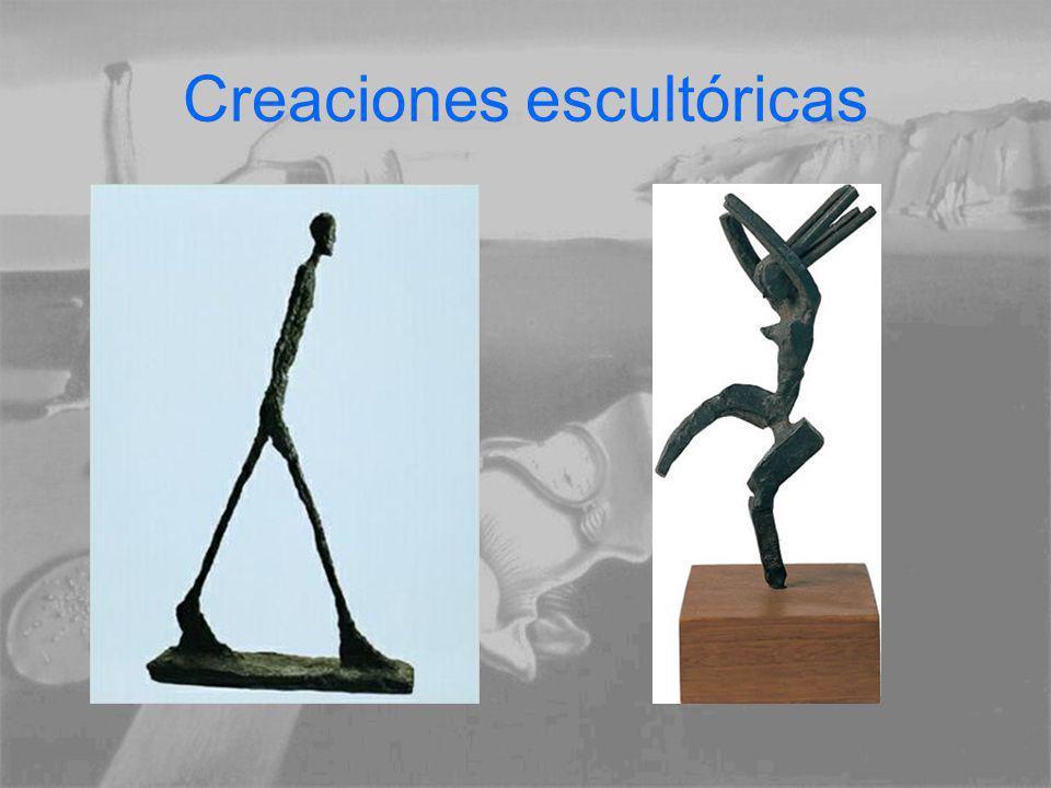 Creaciones escultóricas