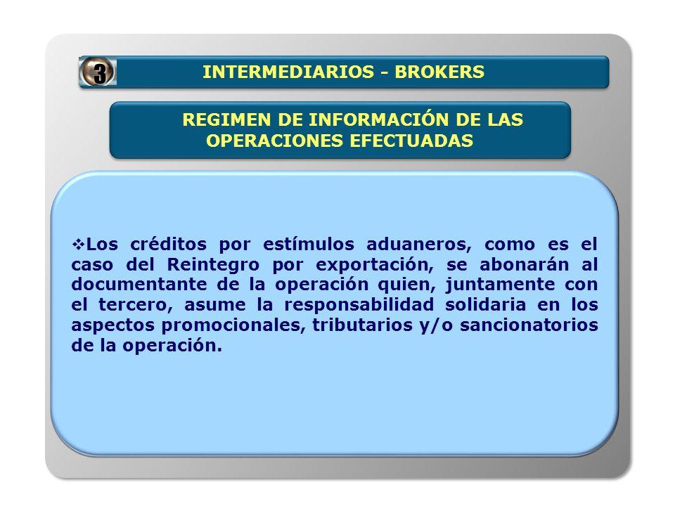 INTERMEDIARIOS - BROKERS