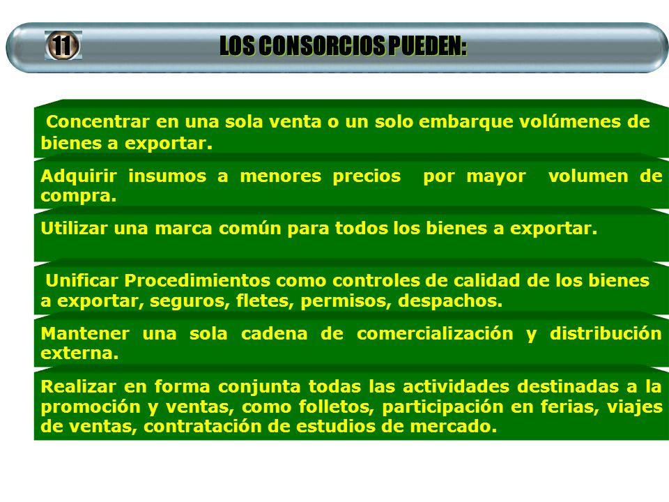 LOS CONSORCIOS PUEDEN: