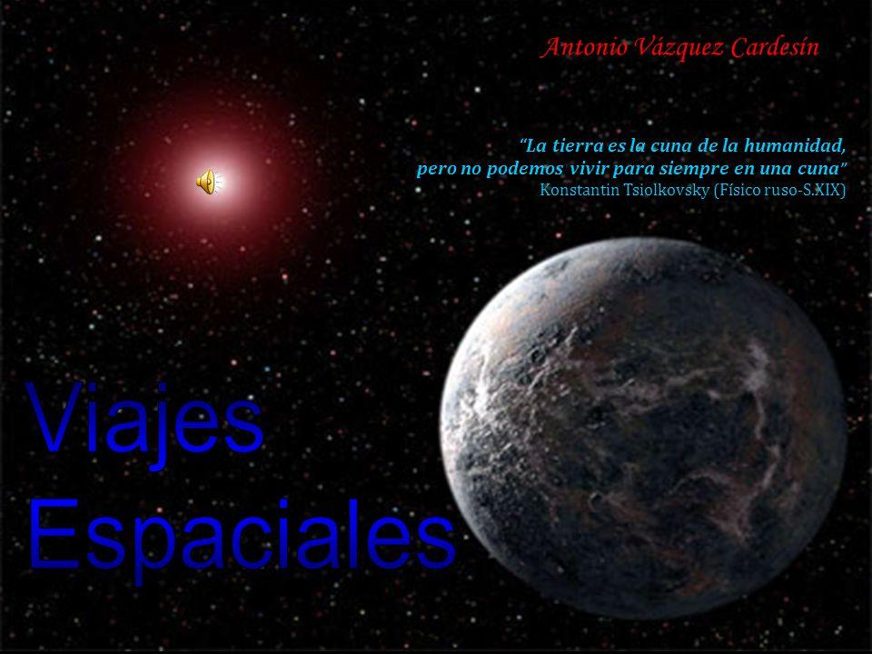 Viajes Espaciales Antonio Vázquez Cardesín