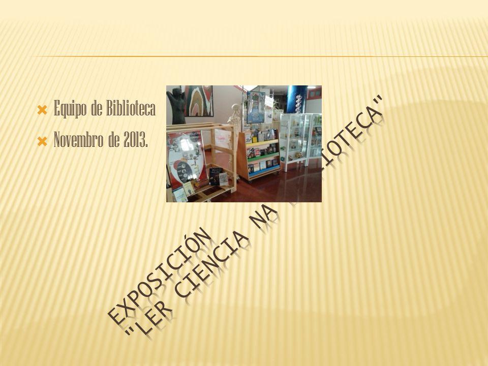 Exposición Ler ciencia na Biblioteca