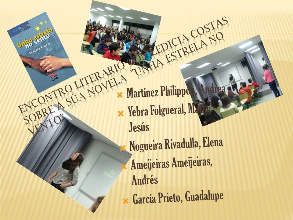 Martínez Philippon, Andrea Yebra Folgueral, María Jesús