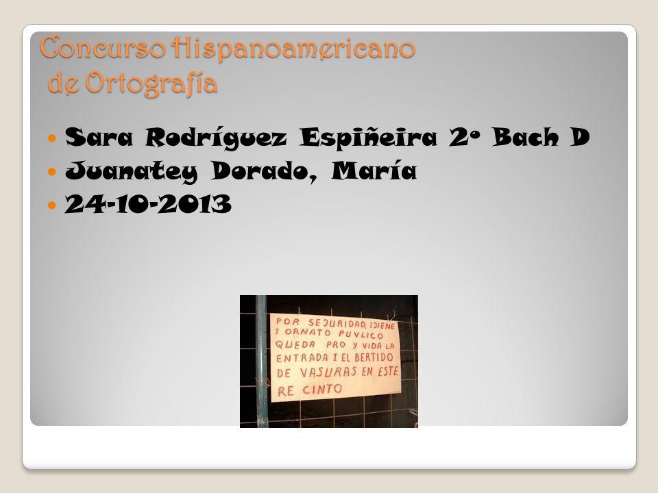 Concurso Hispanoamericano de Ortografía