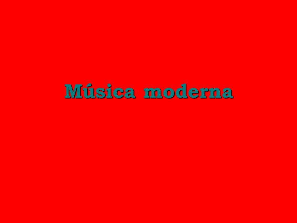 Música moderna