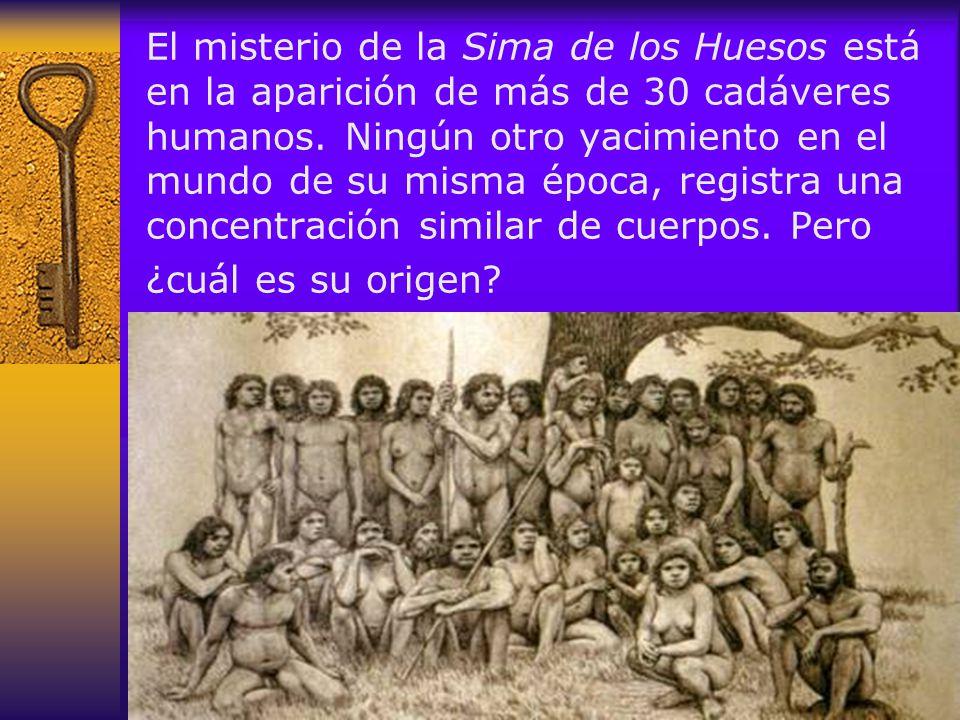 El misterio de la Sima de los Huesos está en la aparición de más de 30 cadáveres humanos.