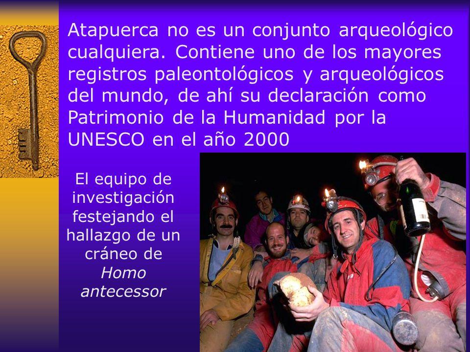 Atapuerca no es un conjunto arqueológico cualquiera