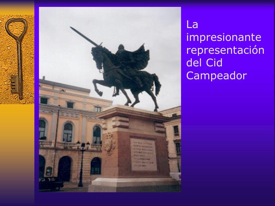 La impresionante representación del Cid Campeador