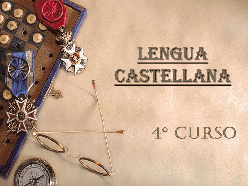 LENGUA CASTELLANA 4° CURSO