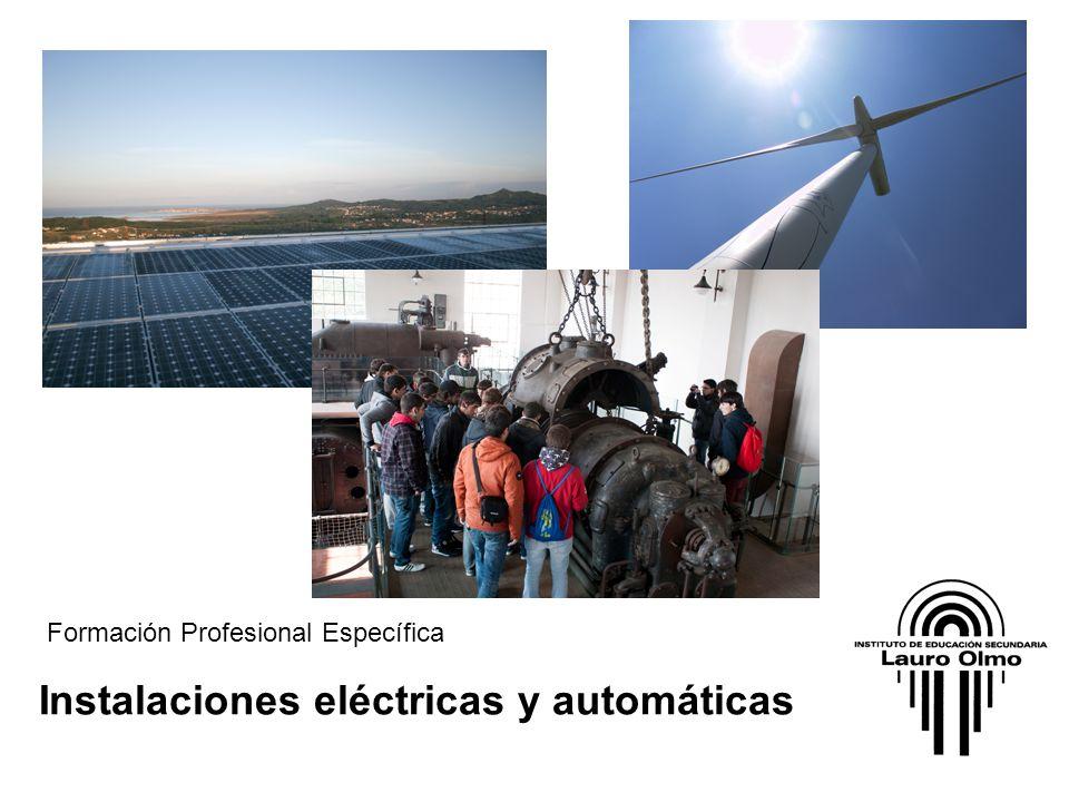 Instalaciones eléctricas y automáticas