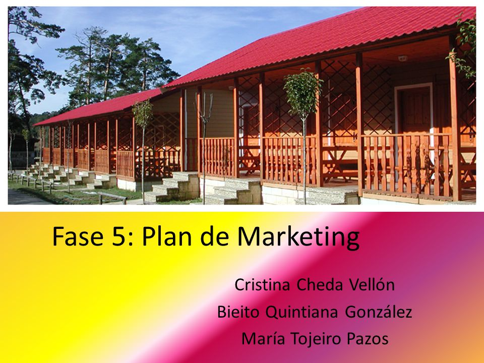 Fase 5: Plan de Marketing