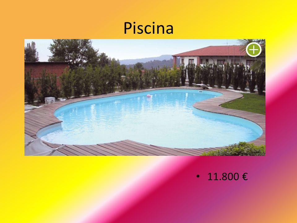 Piscina 11.800 €