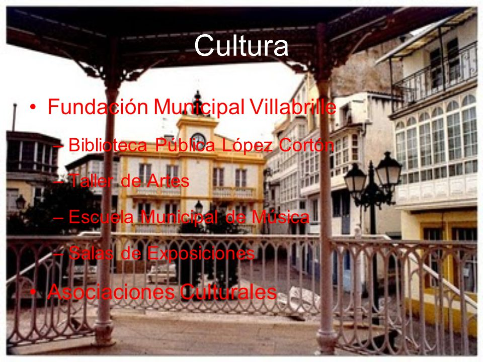 Cultura Fundación Municipal Villabrille Asociaciones Culturales