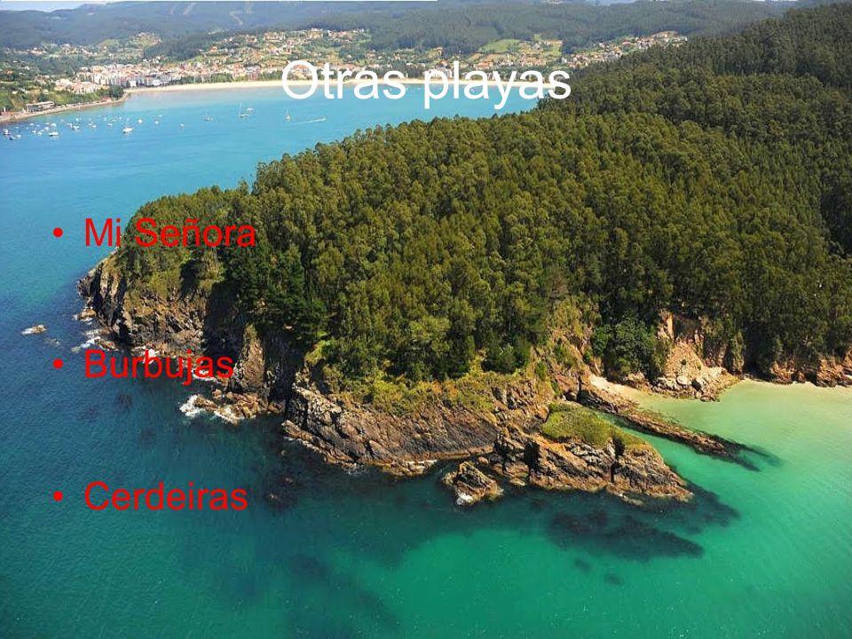 Otras playas Mi Señora Burbujas Cerdeiras
