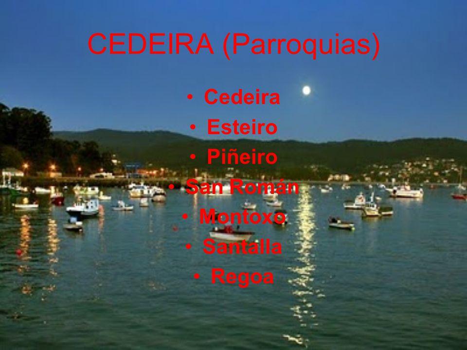 CEDEIRA (Parroquias) Cedeira Esteiro Piñeiro San Román Montoxo
