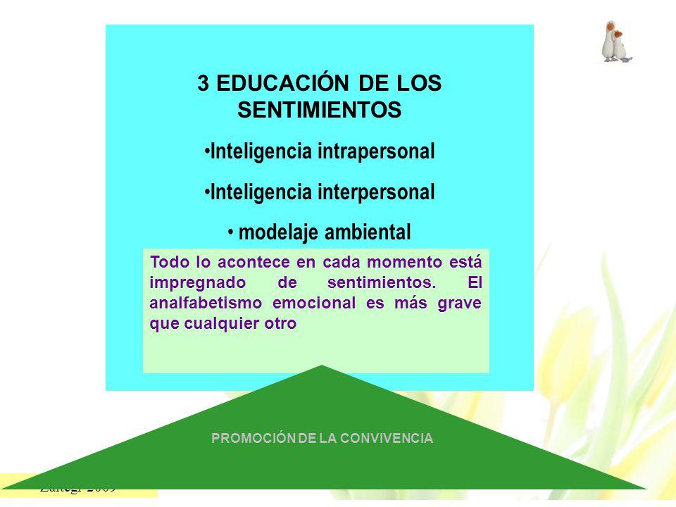 3 EDUCACIÓN DE LOS SENTIMIENTOS