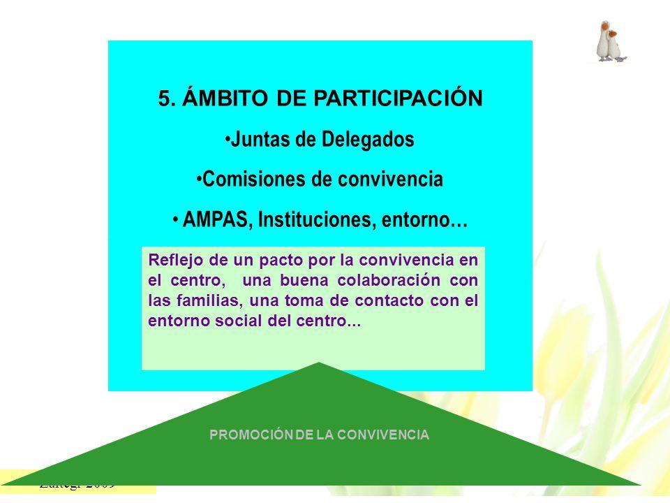 5. ÁMBITO DE PARTICIPACIÓN Juntas de Delegados