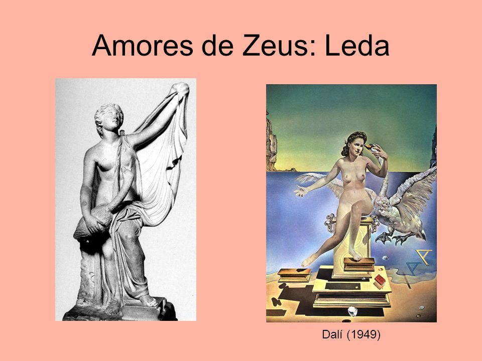 Amores de Zeus: Leda Dalí (1949)