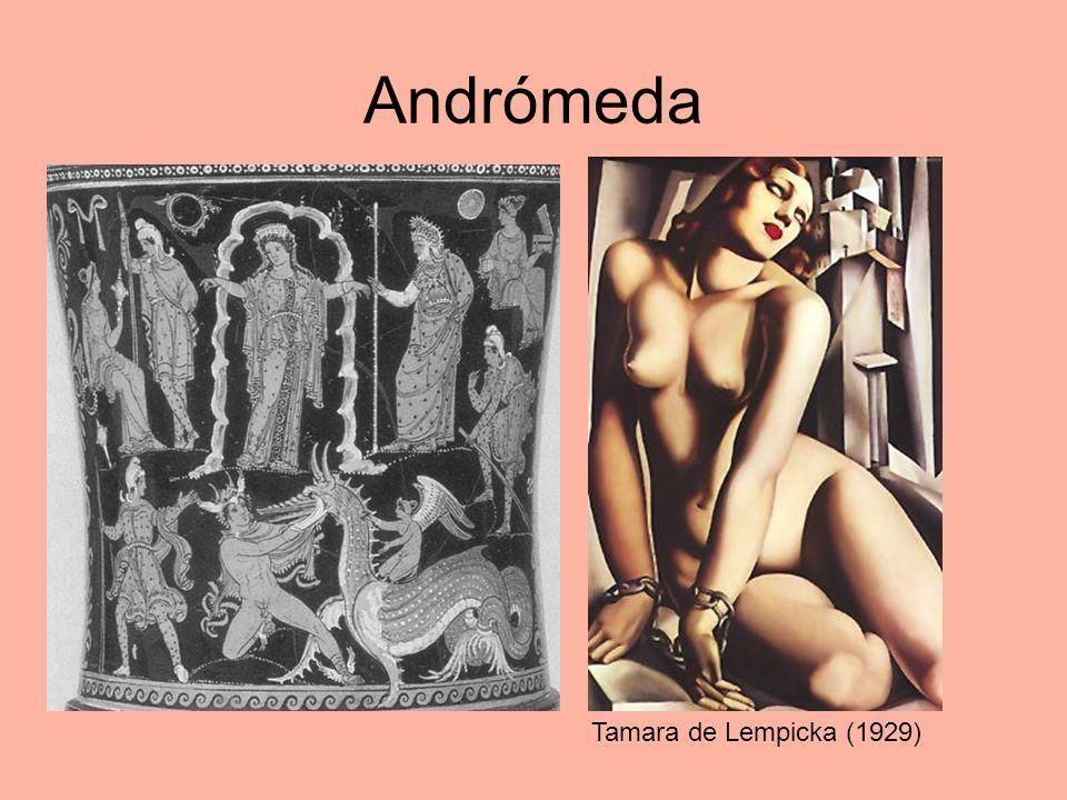 Andrómeda Tamara de Lempicka (1929)