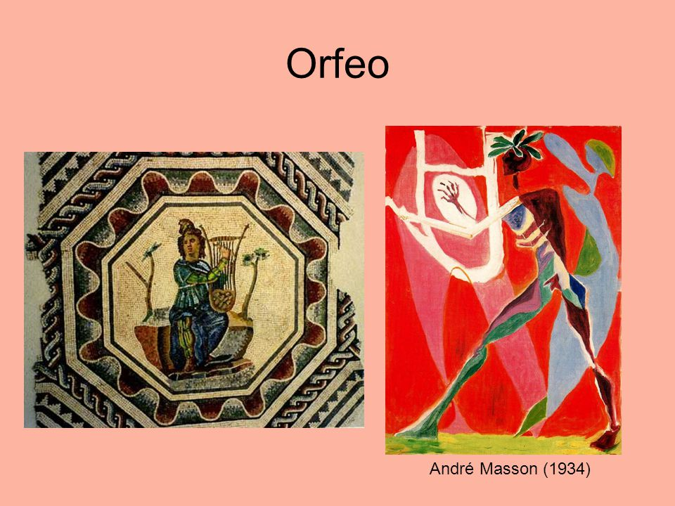 Orfeo André Masson (1934)