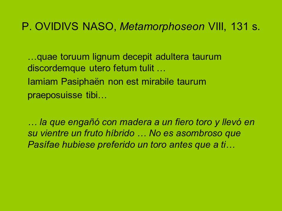 P. OVIDIVS NASO, Metamorphoseon VIII, 131 s.