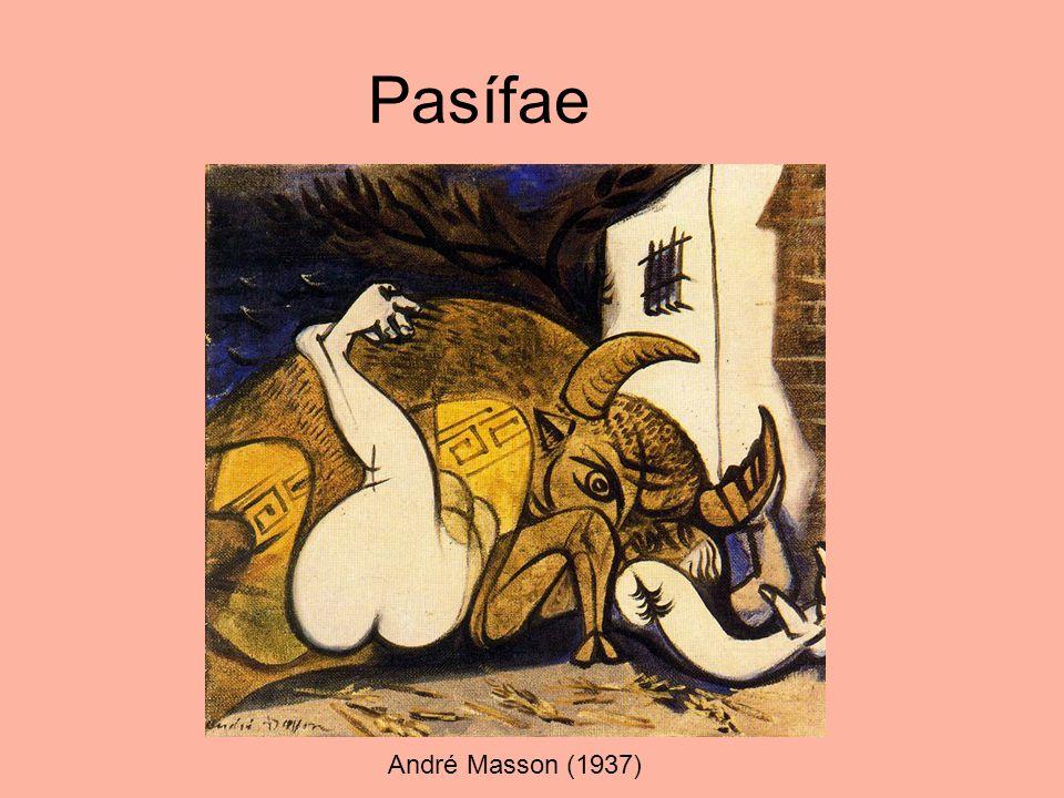 Pasífae André Masson (1937)