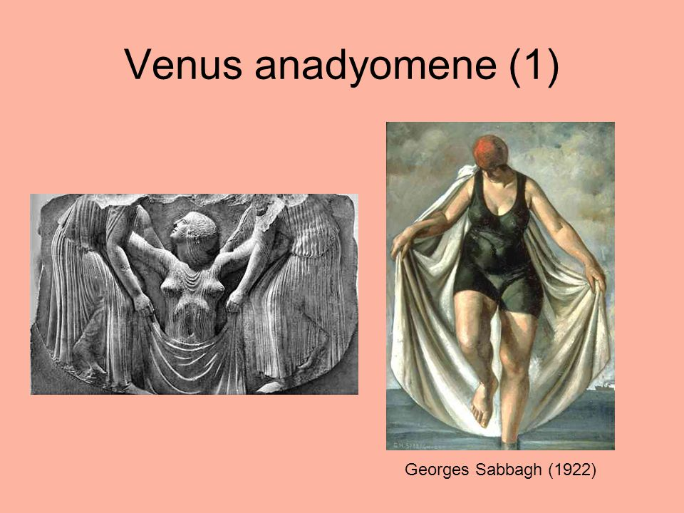 Venus anadyomene (1) Georges Sabbagh (1922)