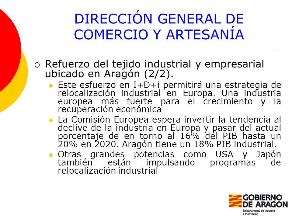 DIRECCIÓN GENERAL DE COMERCIO Y ARTESANÍA