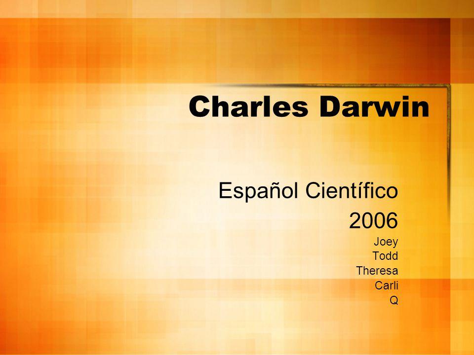 Español Científico 2006 Joey Todd Theresa Carli Q