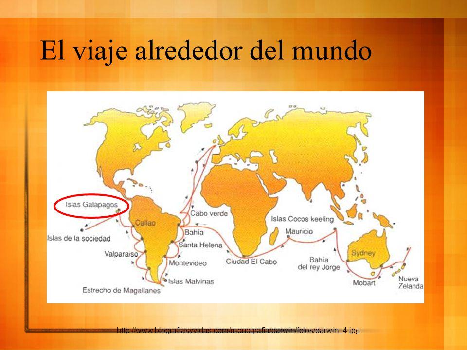 El viaje alrededor del mundo