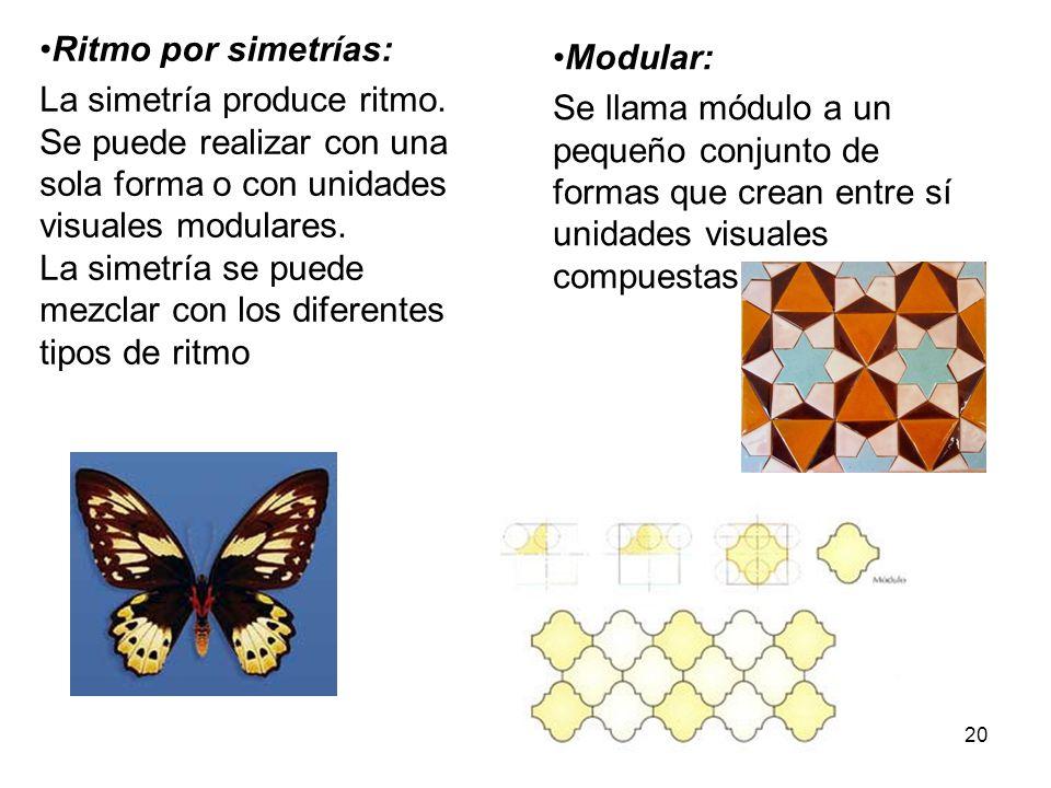 Ritmo por simetrías: