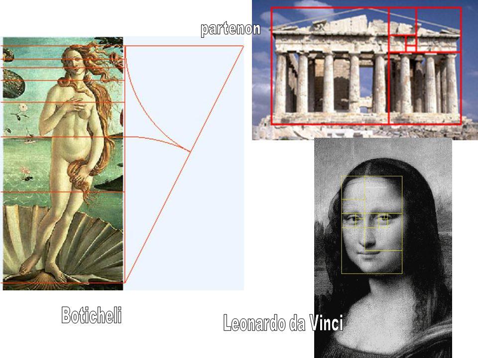 partenon Boticheli Leonardo da Vinci