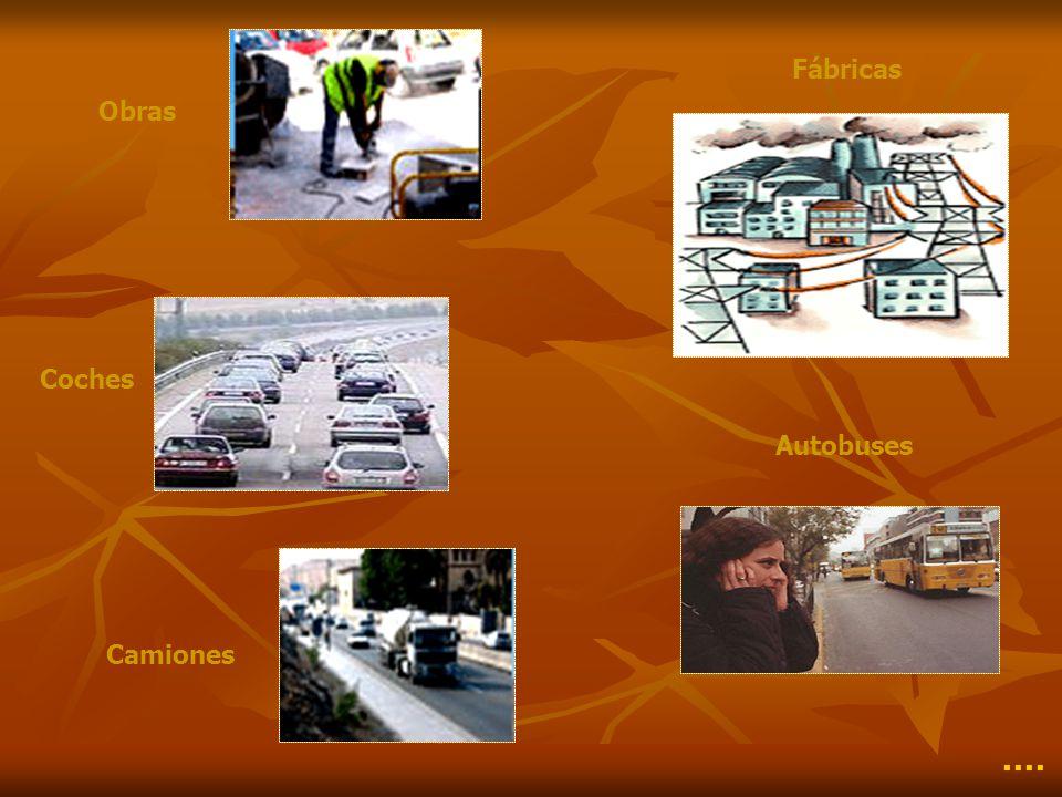 Fábricas Obras Coches Autobuses Camiones ····