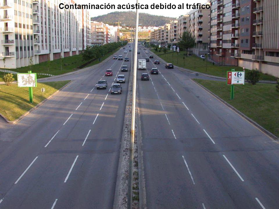 Contaminación acústica debido al tráfico