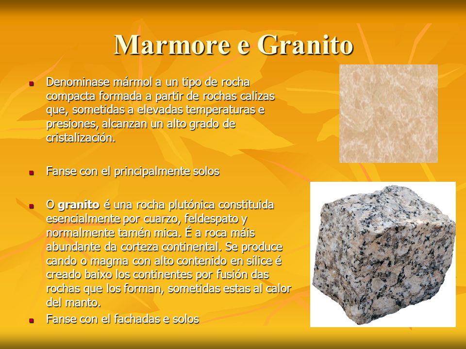 Marmore e Granito