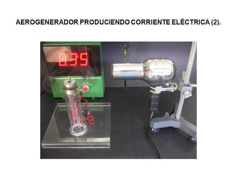 AEROGENERADOR PRODUCIENDO CORRIENTE ELÉCTRICA (2).