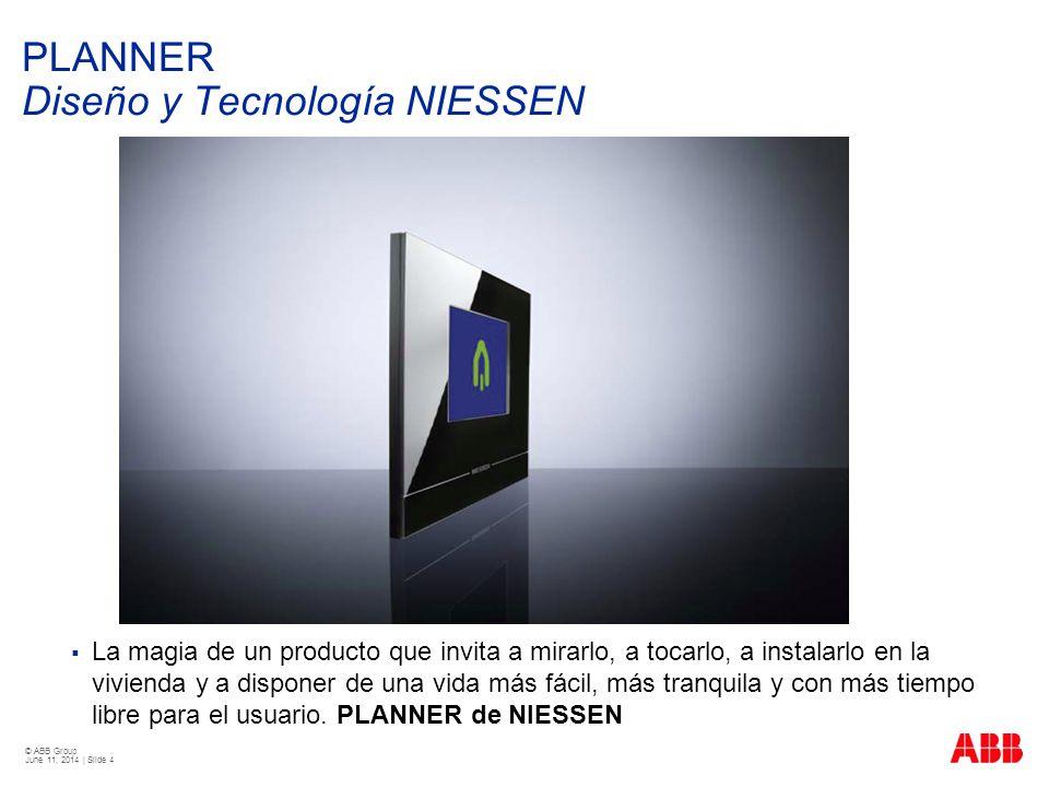 PLANNER Diseño y Tecnología NIESSEN