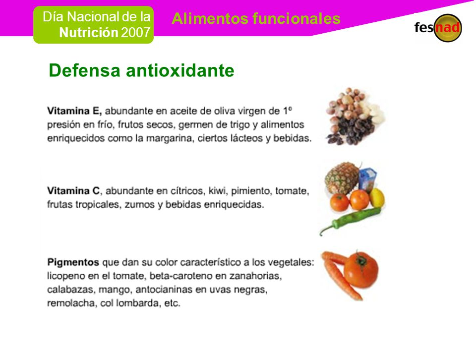 Defensa antioxidante
