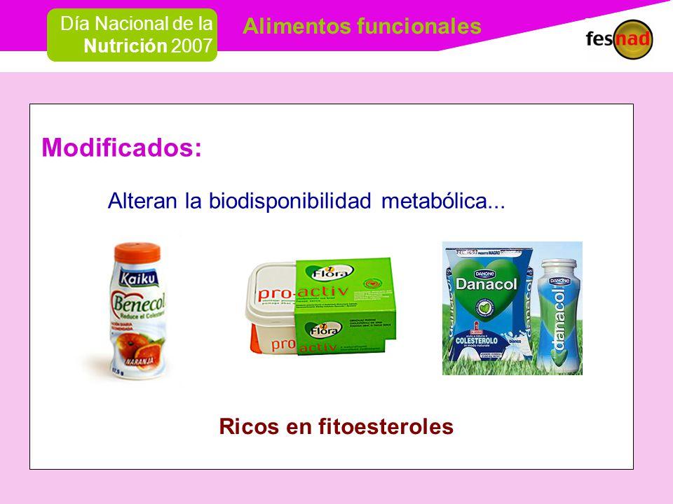 Ricos en fitoesteroles