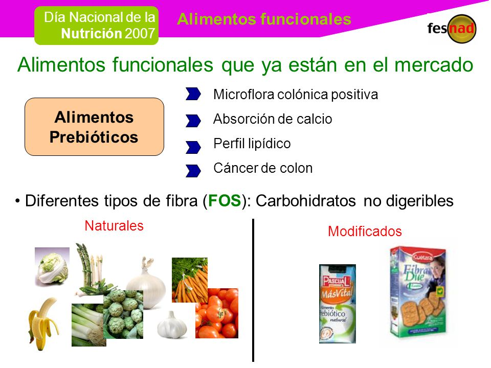 Alimentos funcionales ppt descargar - Alimentos naturales ricos en calcio ...