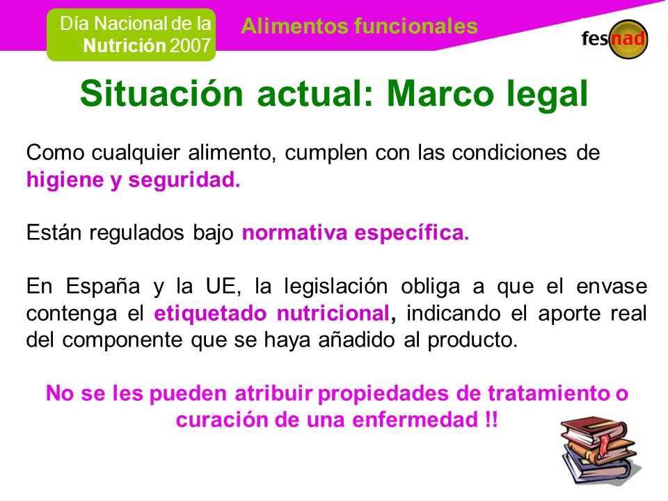 Situación actual: Marco legal