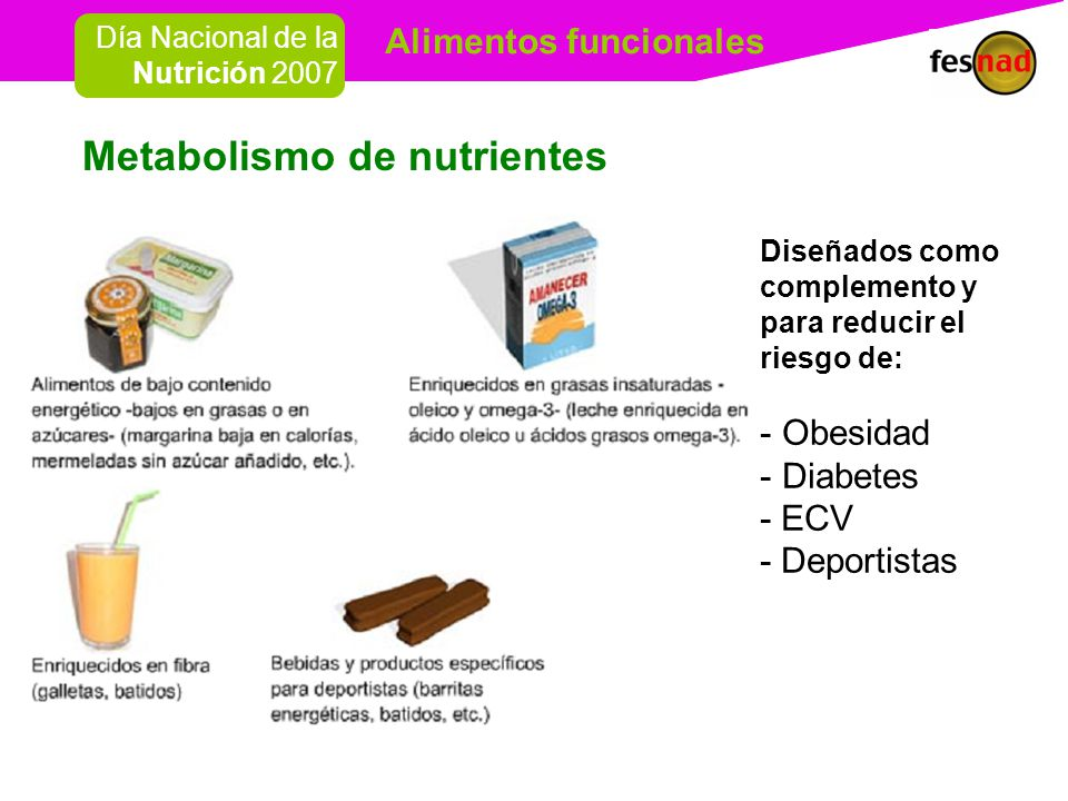 Metabolismo de nutrientes