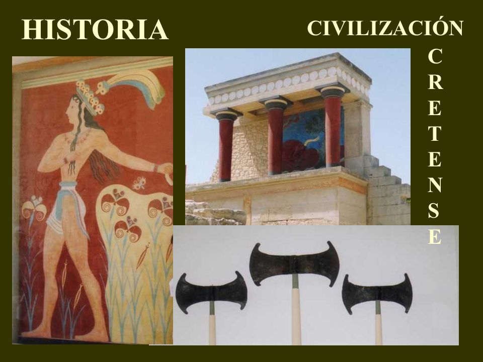 HISTORIA CIVILIZACIÓN CRETENSE