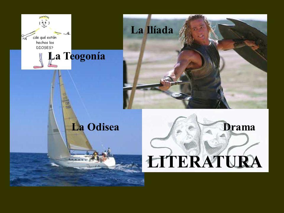 La Ilíada La Teogonía La Odisea Drama LITERATURA