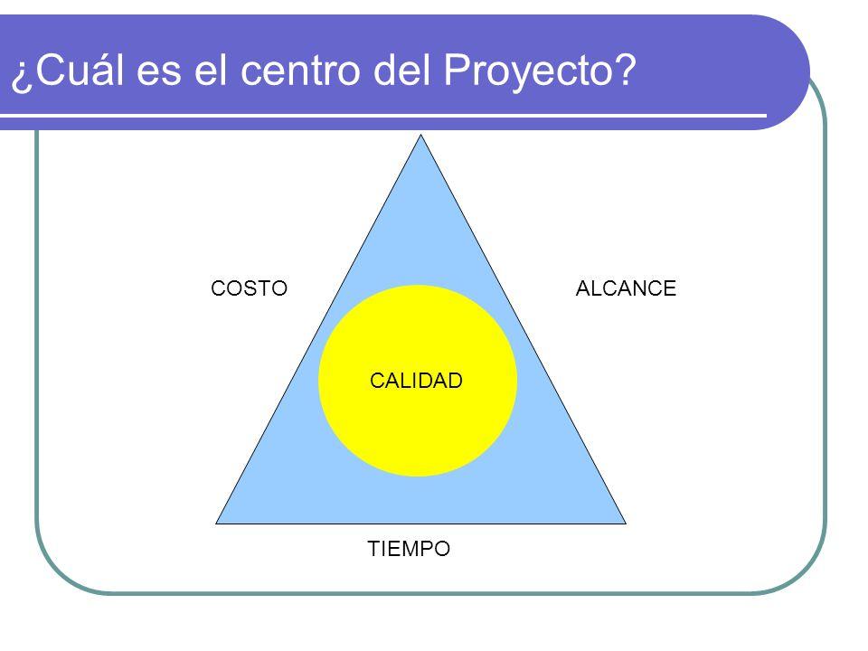 ¿Cuál es el centro del Proyecto