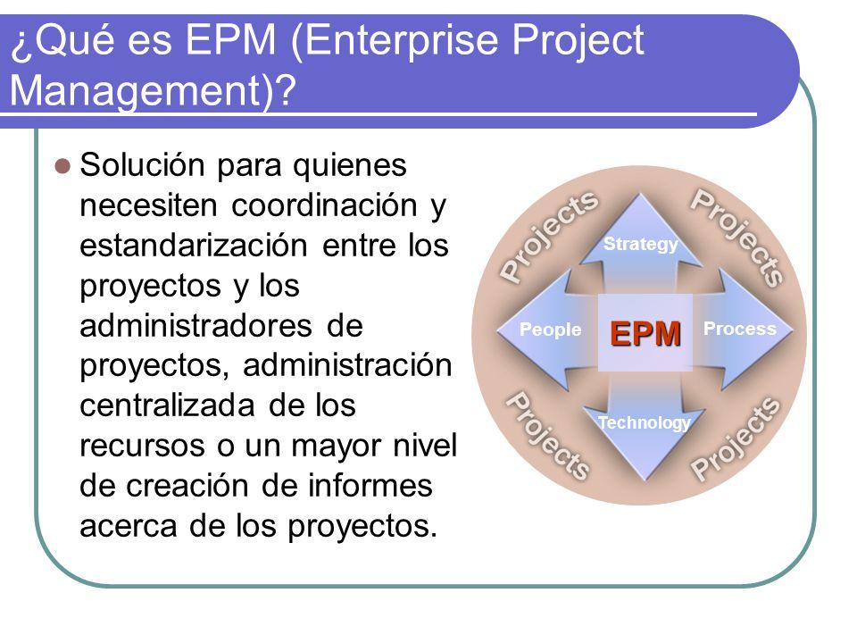 ¿Qué es EPM (Enterprise Project Management)