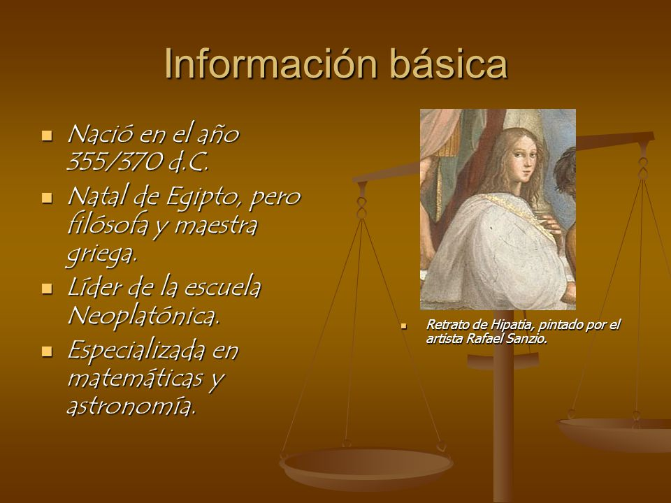 Información básica Nació en el año 355/370 d.C.