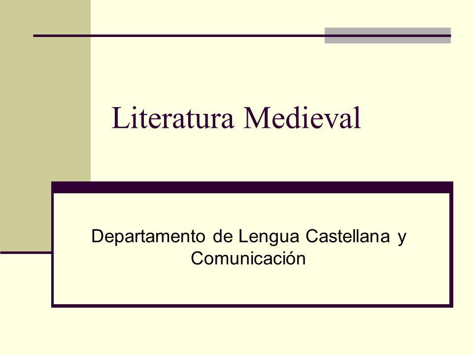 Departamento de Lengua Castellana y Comunicación