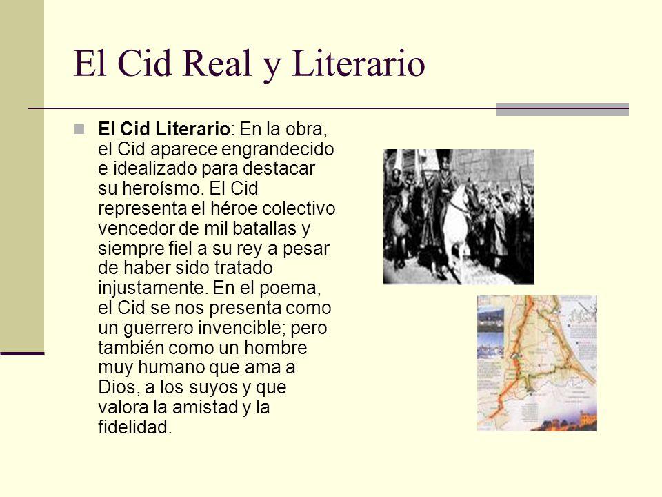 El Cid Real y Literario