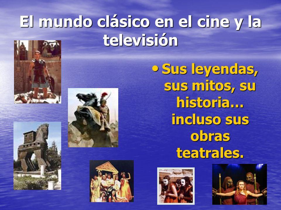 El mundo clásico en el cine y la televisión